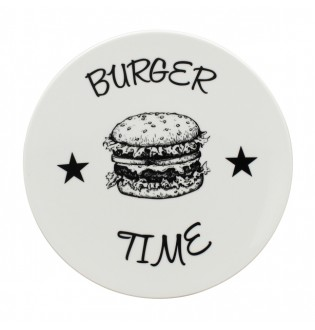 Assiette Burger Lot de 12
